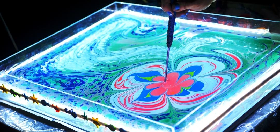 Что рисовать на воде